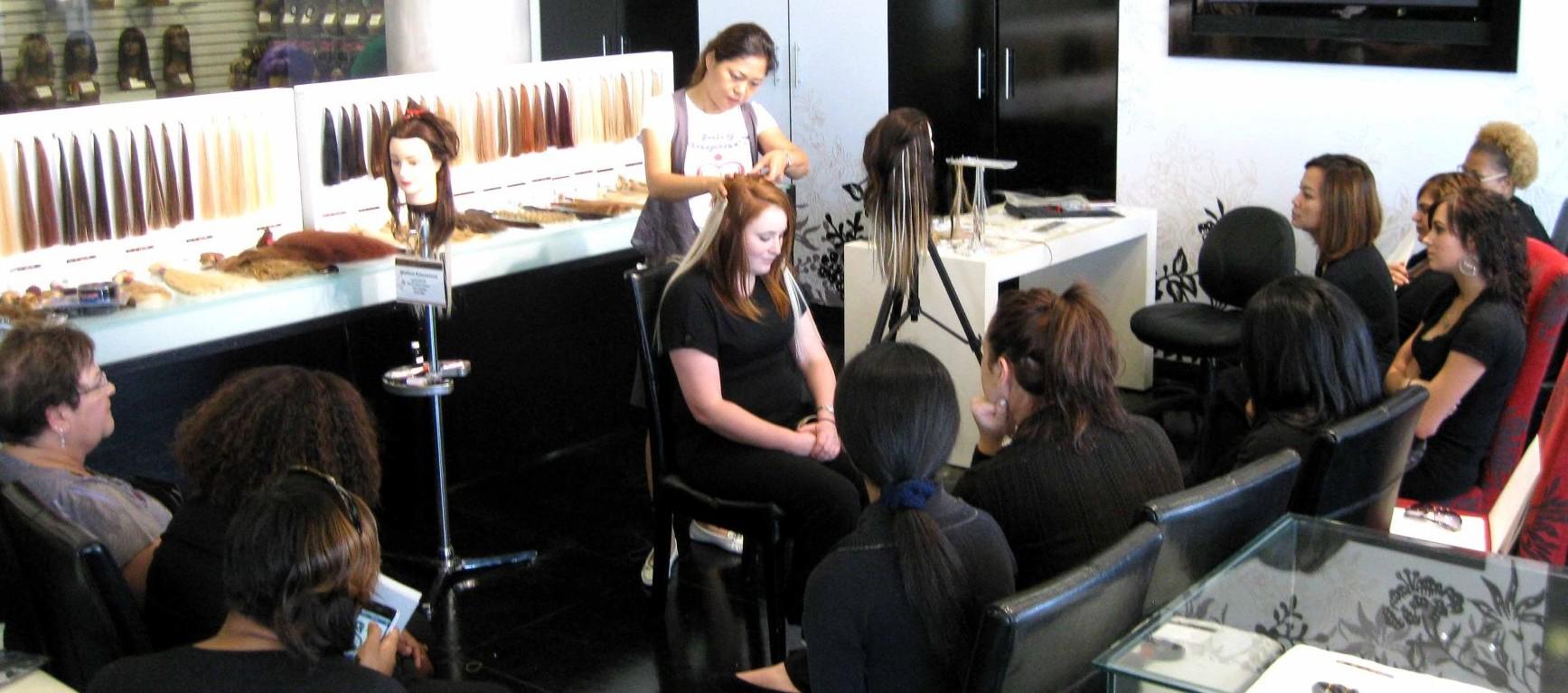 Hair workshop