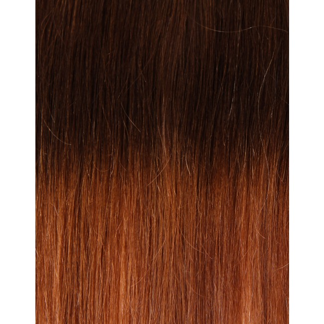 Girlis Luxury Hair Extensions 100% Remy Colour Swatch Ombre 2T27 ...