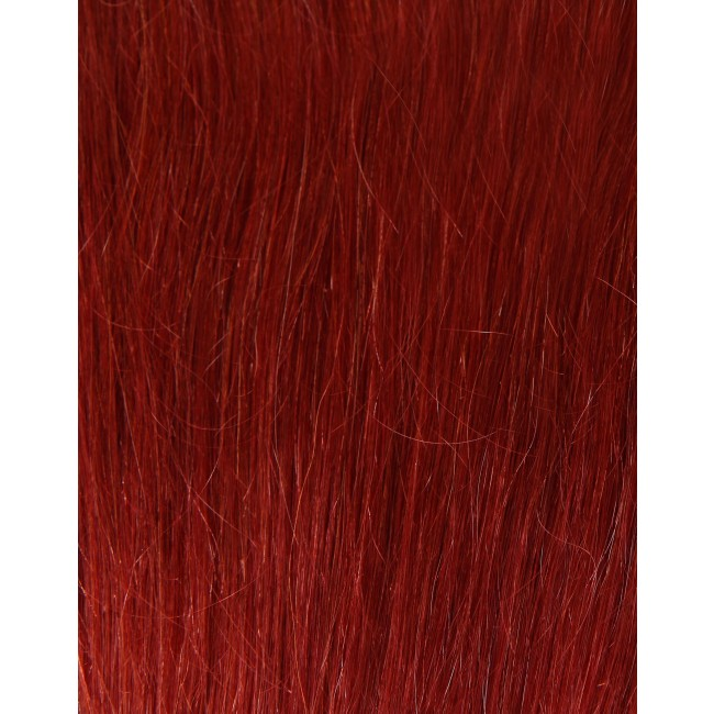 100 Remy Colour Swatch Copper Red 350 Girlis Luxury Hair Extensions