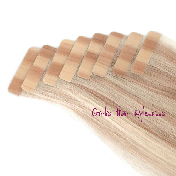 Girlis luxury hair extensions 50g 20pcs 25g tape in hair remy tape in hair extensions pmusecretfo Image collections