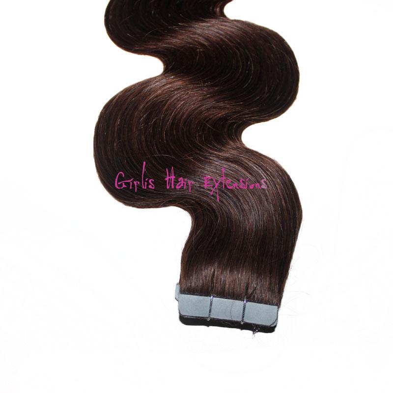 Girlis luxury hair extensions 50g body wave tape hair extension remy body wave tape in hair extensions pmusecretfo Choice Image