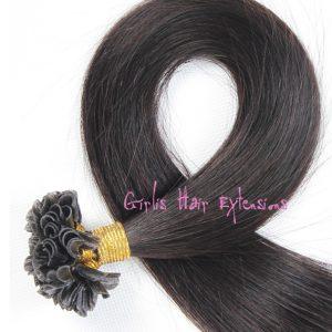 Keratin-U-Tip-1g-strand-Nail-Tip-Fusion-Human-Hair-Extension