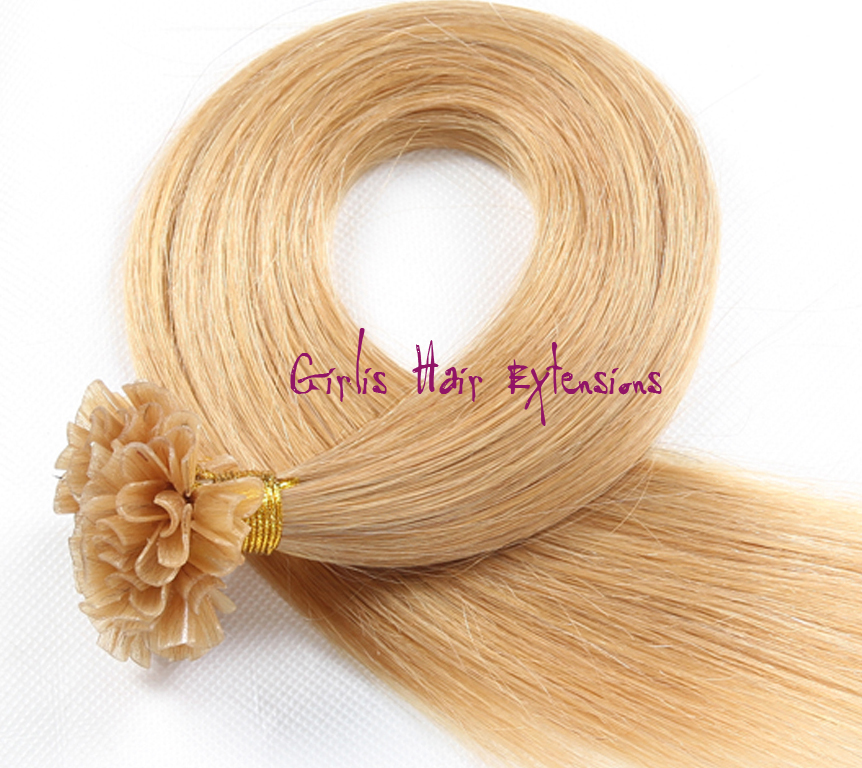 05g Nail Tip Pre Bonded Remy Hair Extensions