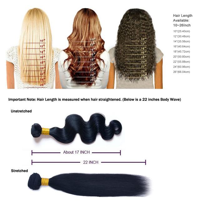 Brazilian Virgin Hair Extensions Comes In Bundles