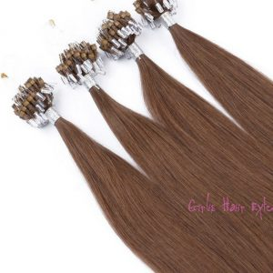 Double drawn Loop-Micro-Ring-Hair-Extensions