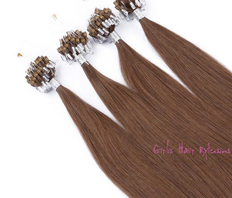 Girlis luxury hair extensions 05g 50s peruvian micro loop hair double drawn loop micro ring hair extensions pmusecretfo Gallery