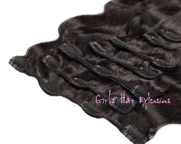 Body weave clip in hair