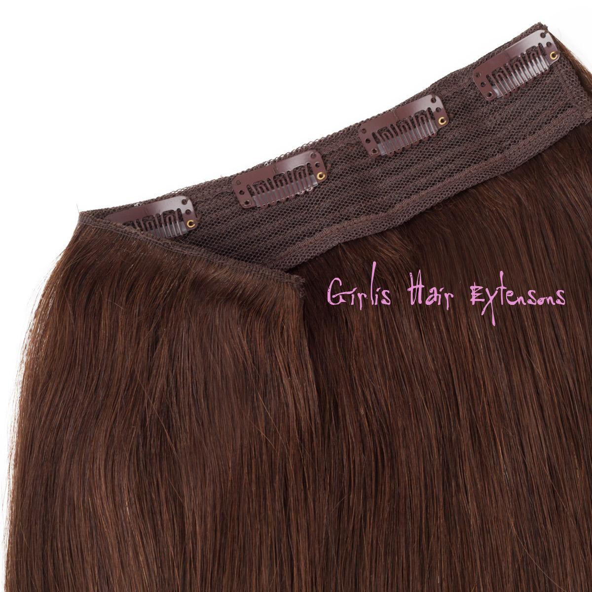 100 Gram Girlis Single Volume Clip In Hair Piece Grade 5a
