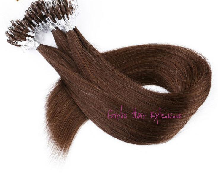 1 Gram Micro Loop Remy Straight Hair Extensions