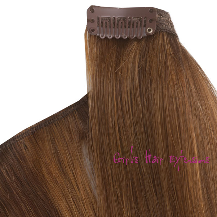 Clip In Hair Straight Remy Human Hair With Good Quality Hair Extensions
