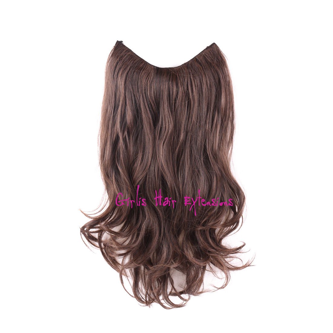 Invisible Wire Hair Extension Weft Straight Remy 120 Gram