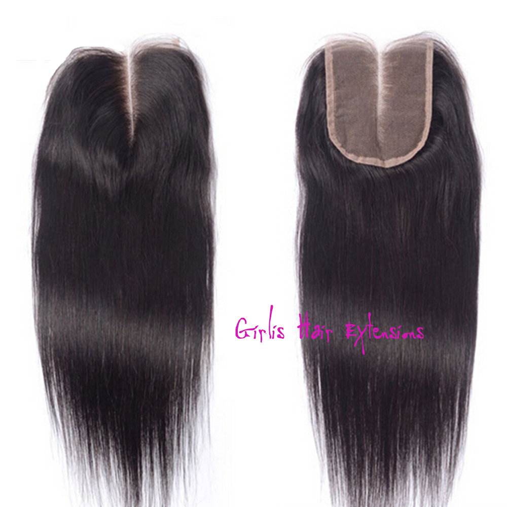 girlis luxury hair extensions straight lace closure hair